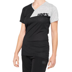 100% Airmatic Jersey Women black/grey